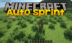 AutoSprint Mod for minecraft logo