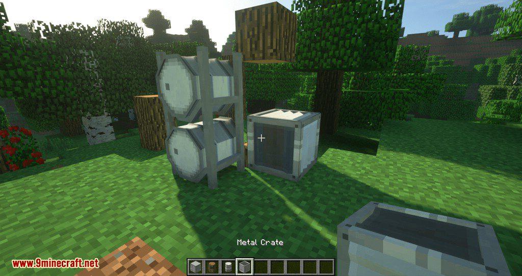Barrels, Drums, Storage _ More mod for minecraft 07