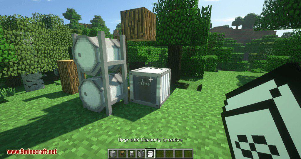 Barrels, Drums, Storage _ More mod for minecraft 08