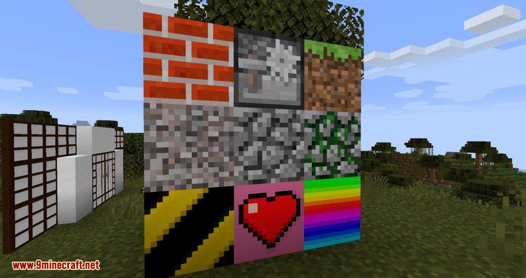 Blockus mod for minecraft 05