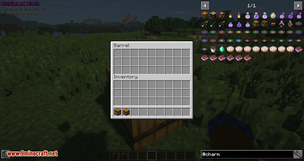 Charm mod for minecraft 04