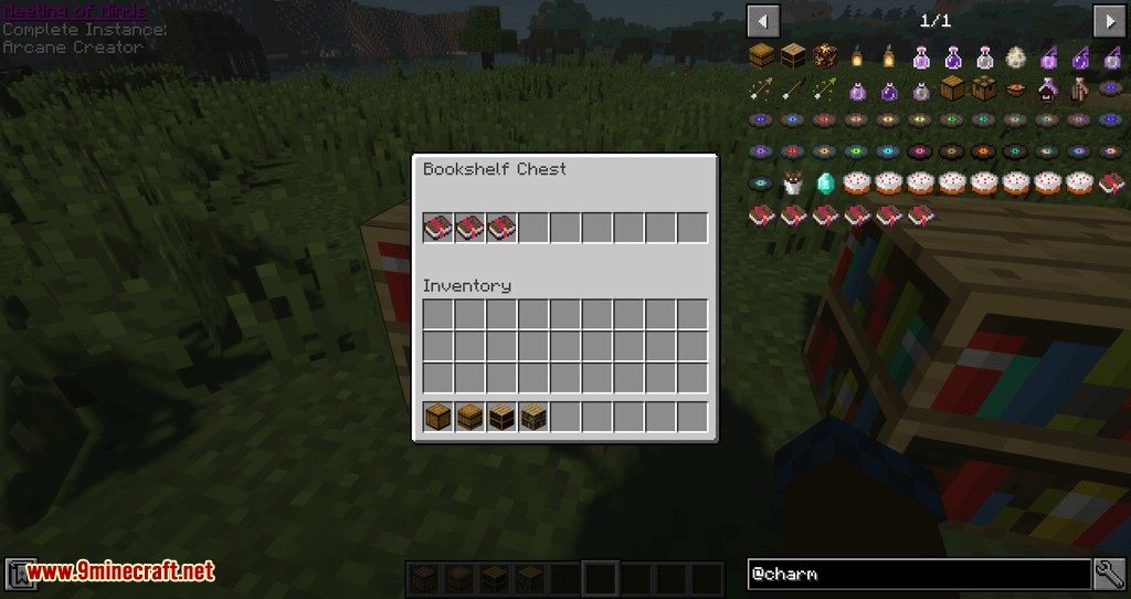 Charm mod for minecraft 07