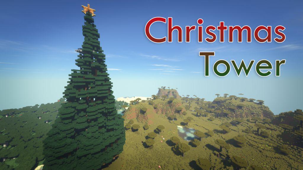 Minecraft Christmas Tree.Christmas Tower Map 1 12 2 1 12 For Minecraft 9minecraft Net