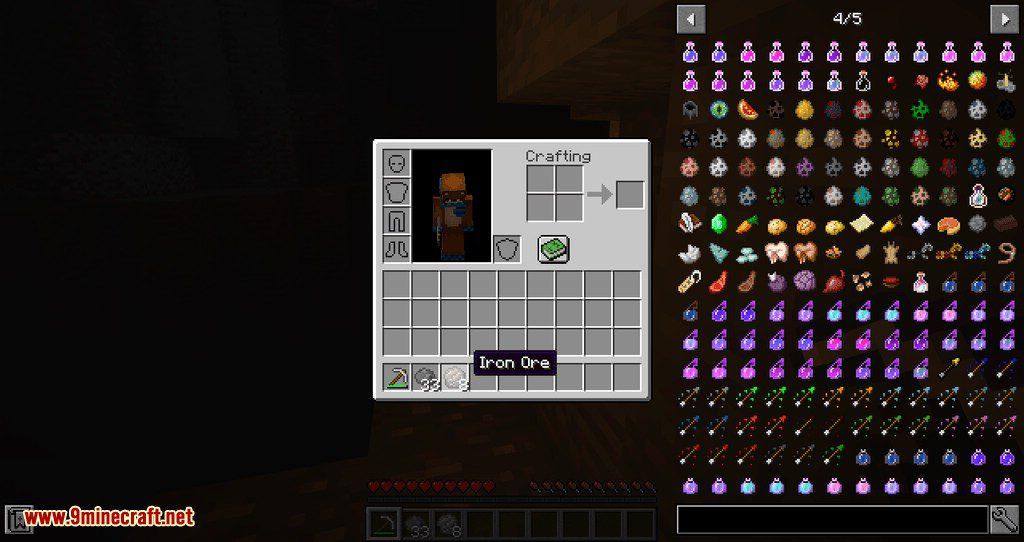Divergent Underground mod for minecraft 06