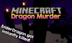 Dragon Murder mod for minecraft logo