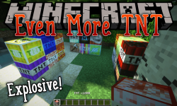 Even More TNT mod for minecraft logo