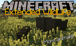 Extended WildLife mod for minecraft logo