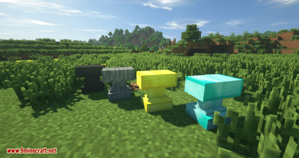 Extra Anvils mod for minecraft 04