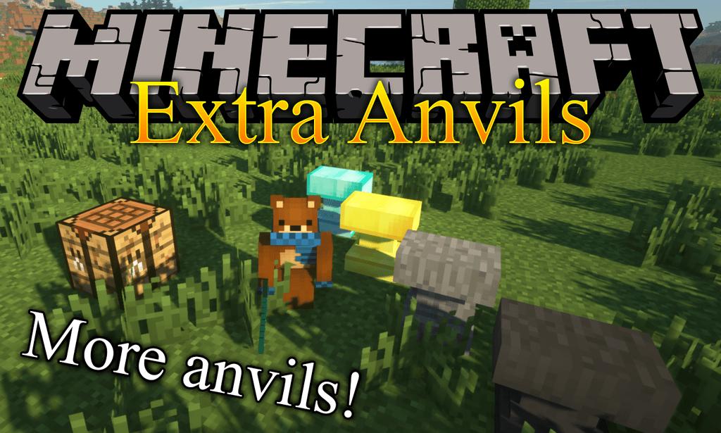 Extra Anvils mod for minecraft logo