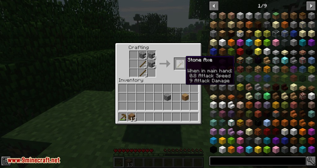 Fast Workbench mod for minecraft 07