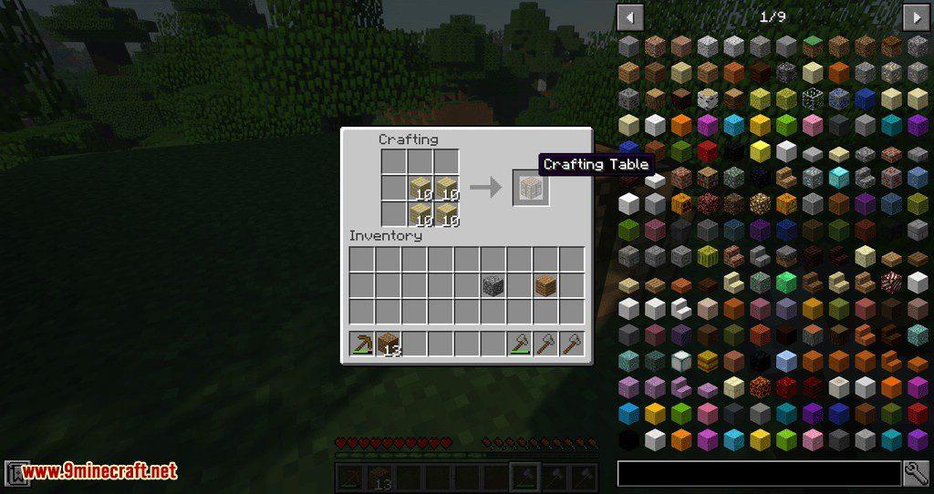 Fast Workbench mod for minecraft 09