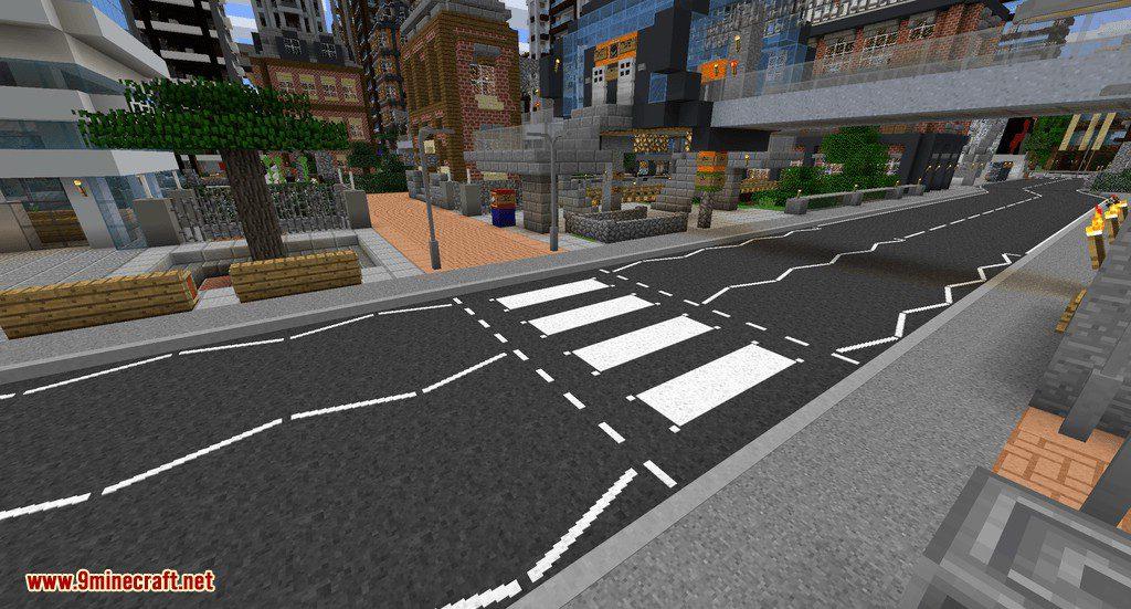 Fureniku_s Roads mod for minecraft 01