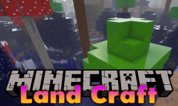 Land Craft mod for minecraft logo