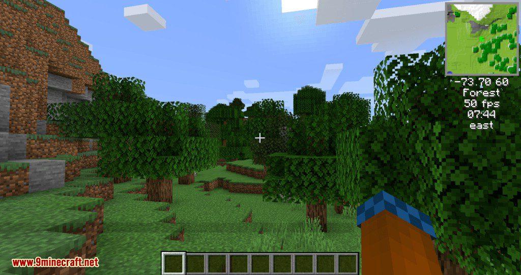 Minecraft Karte.Mappy Mod 1 14 4 A Mini Map Mod For Fabric 9minecraft Net