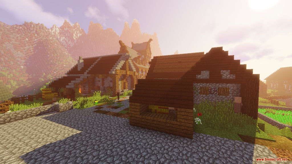 Medieval Village with Castle Map Screenshots (1)