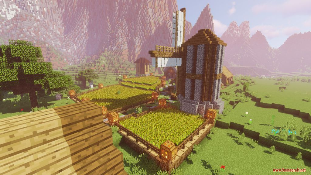 Medieval Village with Castle Map Screenshots (10)