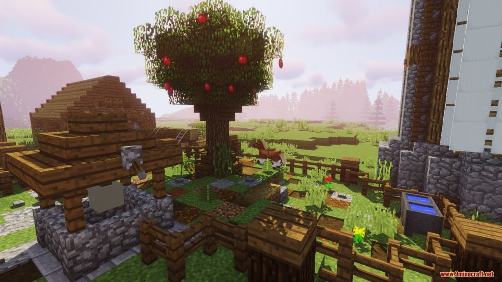Medieval Village with Castle Map Screenshots (11)