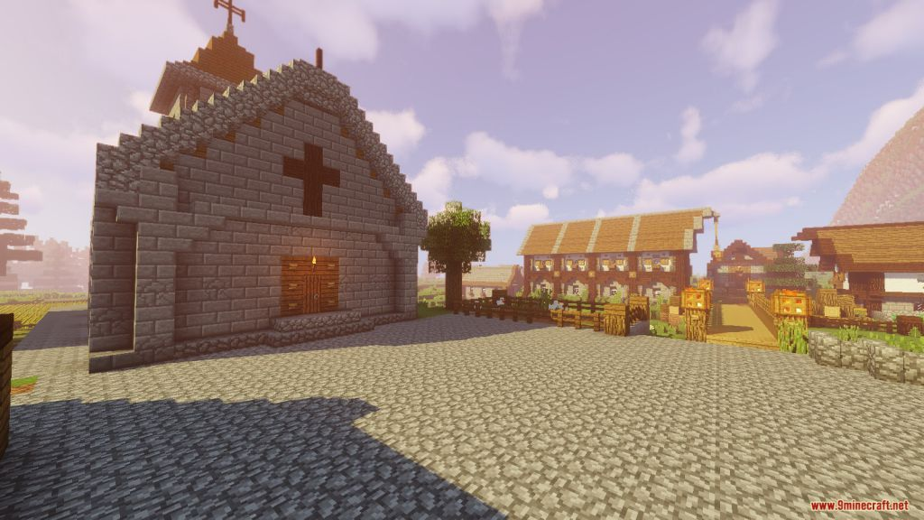 Medieval Village with Castle Map Screenshots (2)