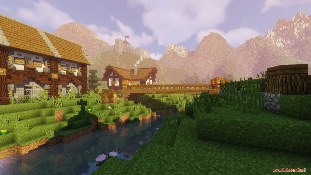Medieval Village with Castle Map Screenshots (3)