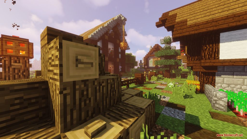 Medieval Village with Castle Map Screenshots (4)