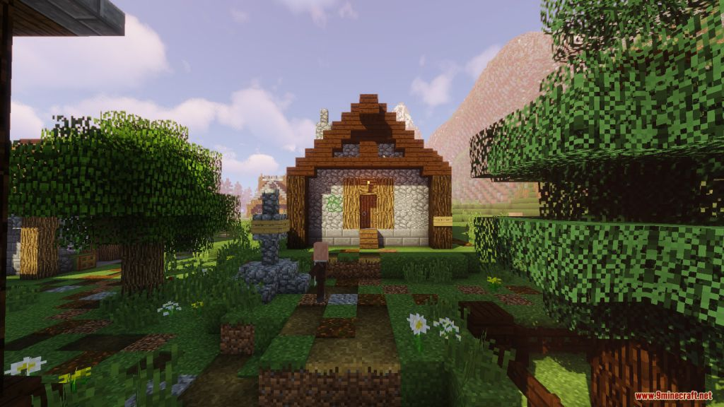 Medieval Village with Castle Map Screenshots (6)