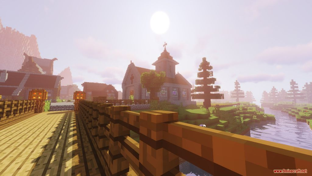 Medieval Village with Castle Map Screenshots (7)