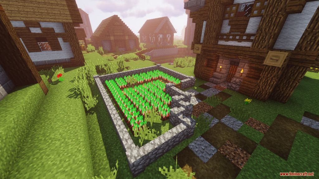 Medieval Village with Castle Map Screenshots (8)
