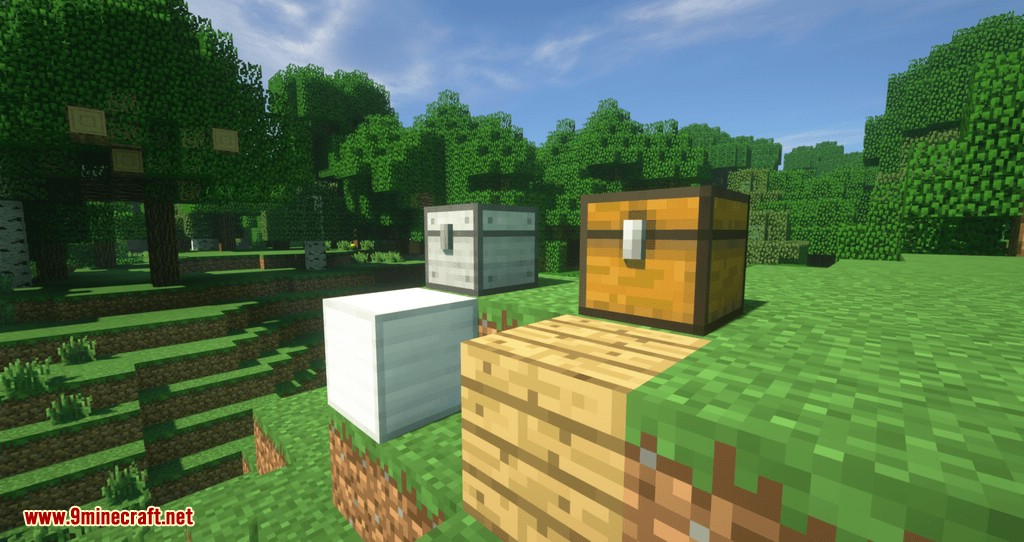 Metal Chests mod for minecraft 01