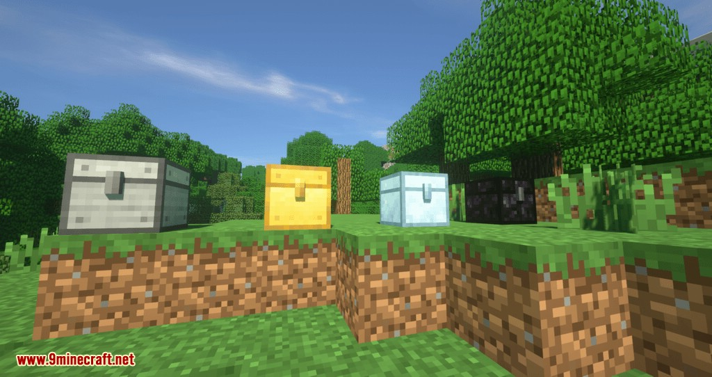 Metal Chests mod for minecraft 04