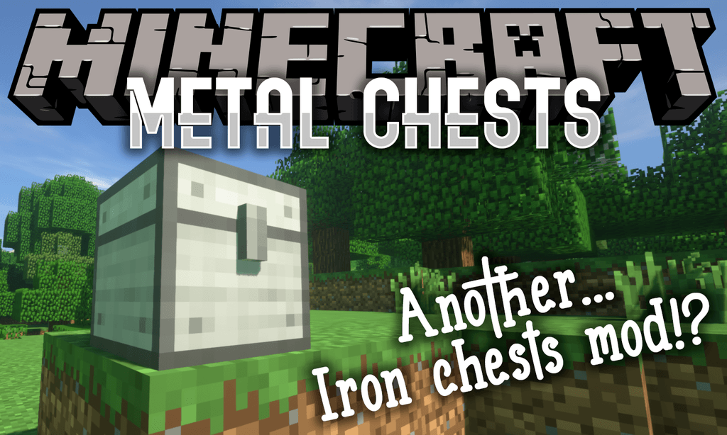 Metal Chests mod for minecraft logo