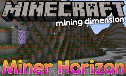 Miner Horizon mod for minecraft logo