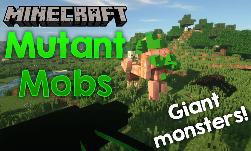 Mutant Mobs mod for minecraft logo