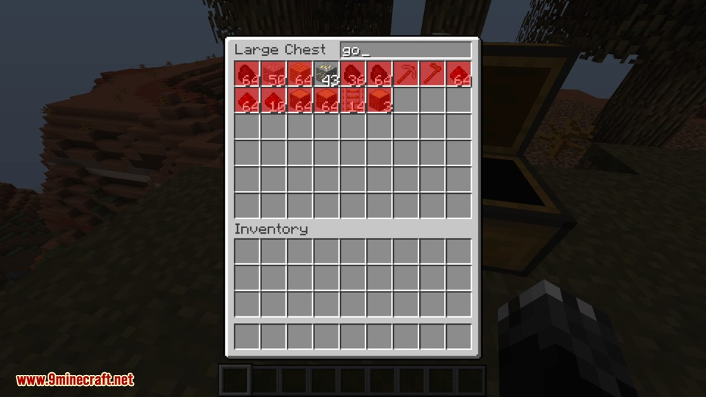 Searchable Chests mod for minecraft 03