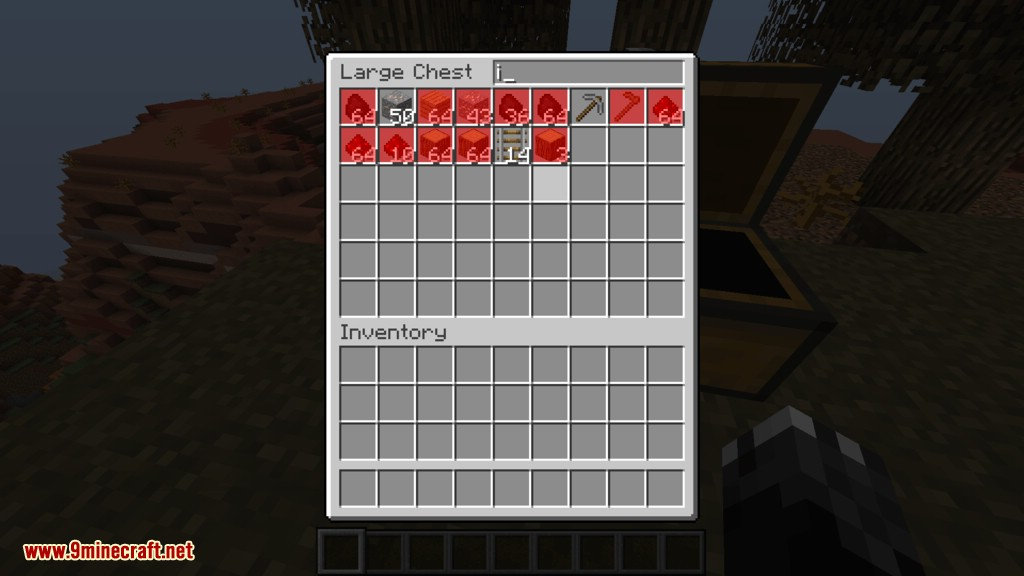 Searchable Chests mod for minecraft 05