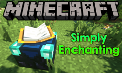 Simply Enchanting mod for minecraft logo