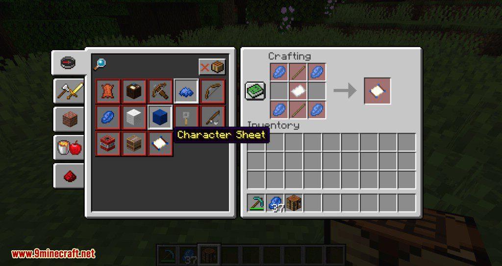 SkillCheck mod for minecraft 16