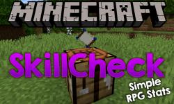 SkillCheck mod for minecraft logo