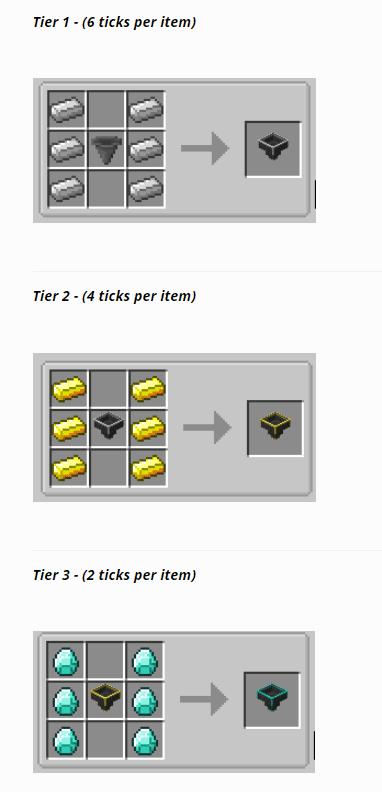 Speedy Hoppers mod for minecraft 16