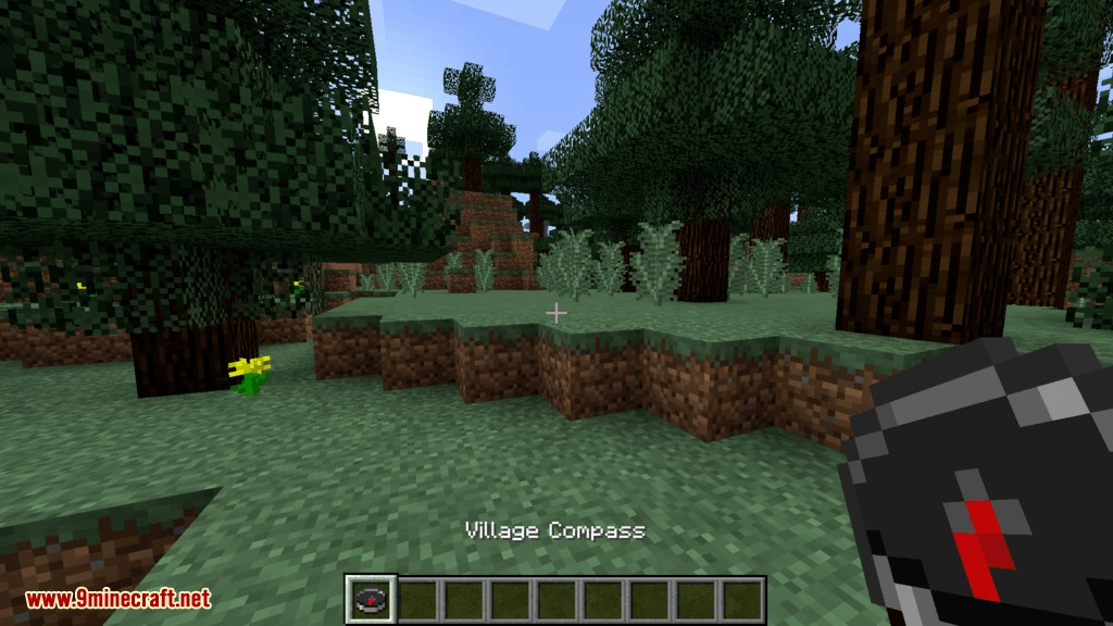 Structure Compass mod for minecraft 02