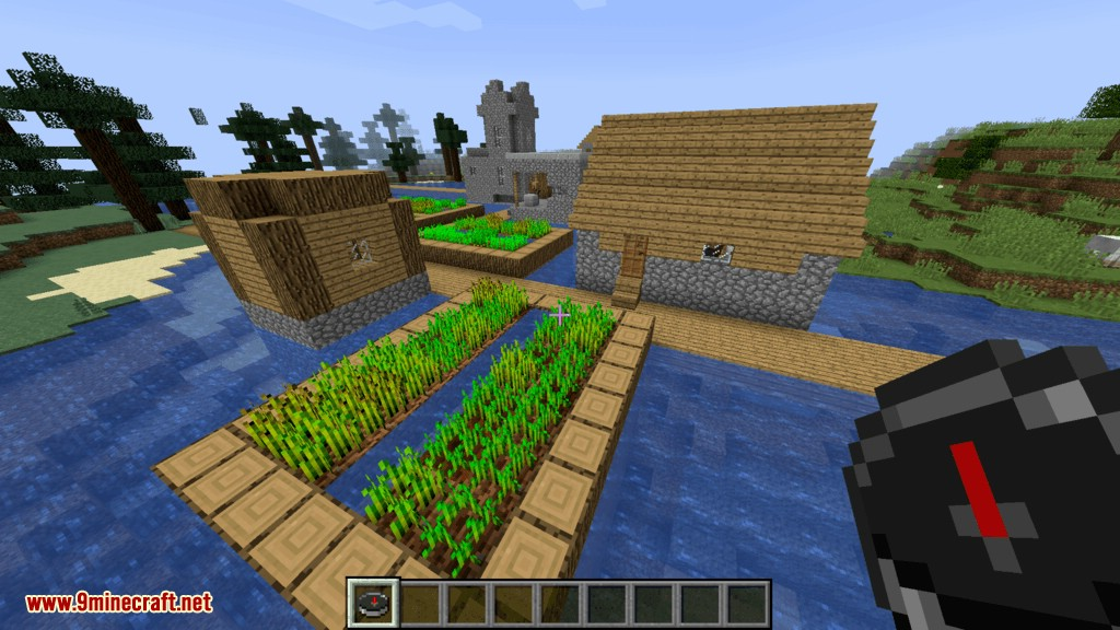 Structure Compass mod for minecraft 03