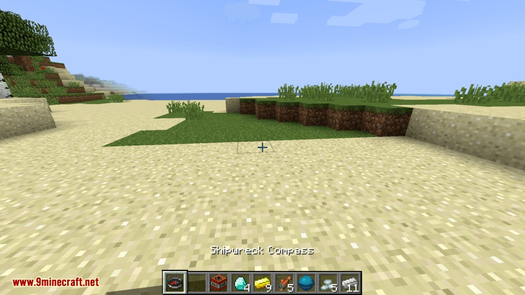Structure Compass mod for minecraft 07
