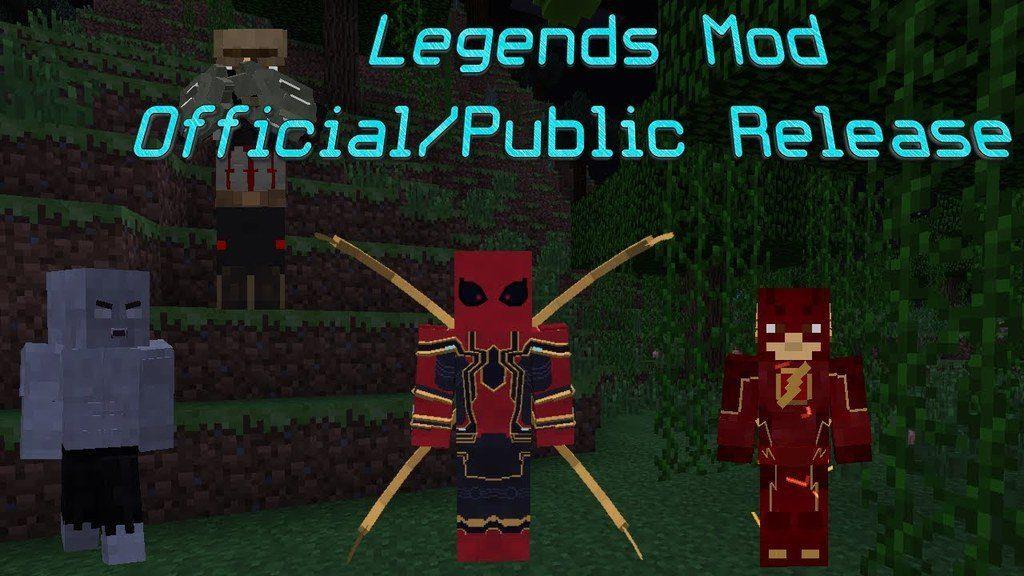 The Legends Mod for Minecraft Logo