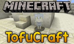 TofuCraft Reloaded mod for minecraft logo