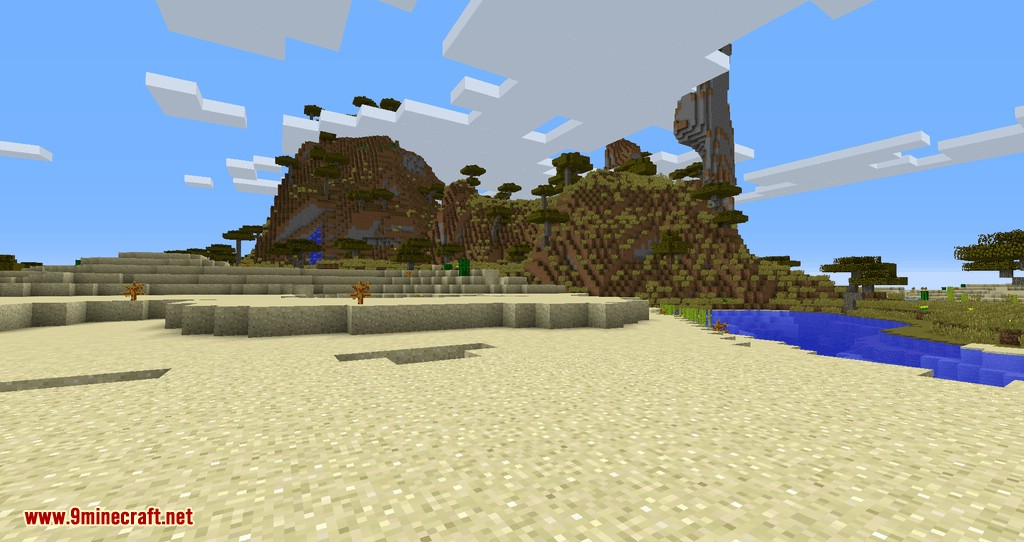 Torch Optimizer mod for minecraft 01