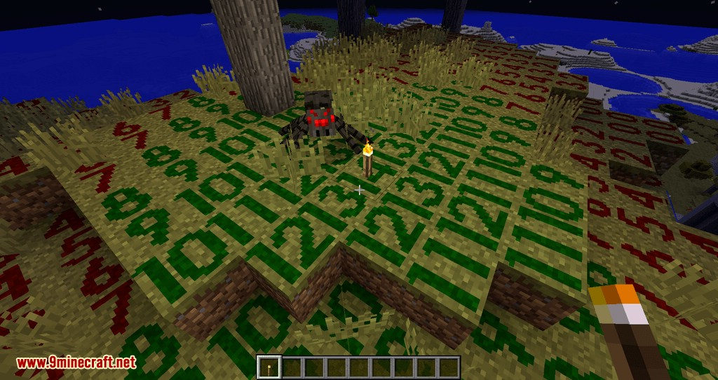 Torch Optimizer mod for minecraft 06