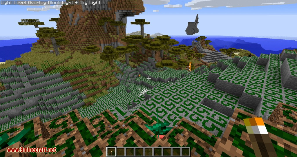 Torch Optimizer mod for minecraft 08