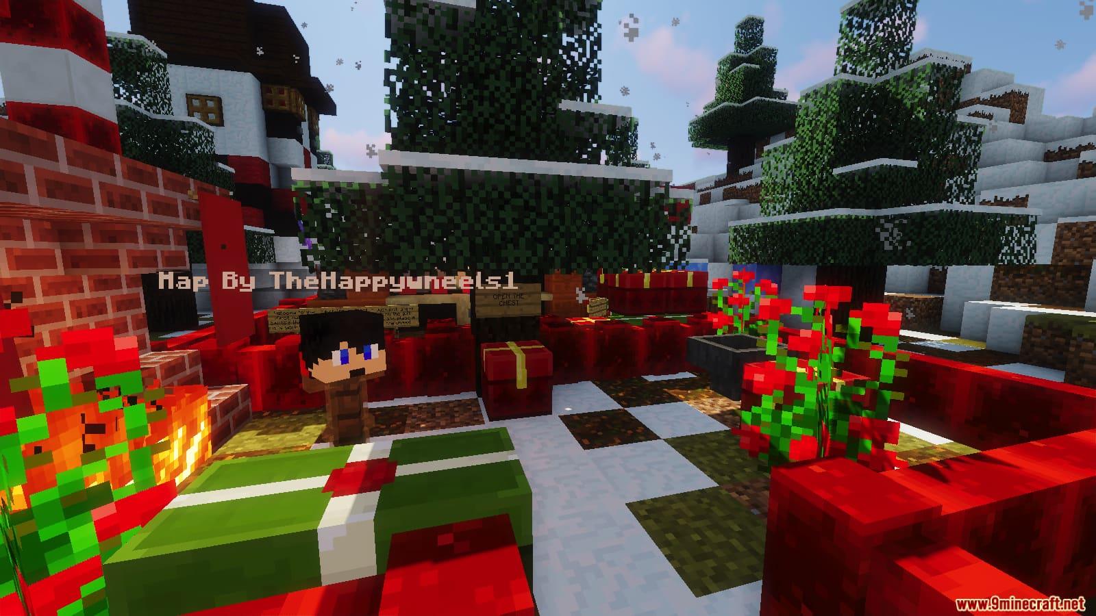 Minecraft Christmas Map.Unfair Christmas Map 1 13 2 For Minecraft 9minecraft Net