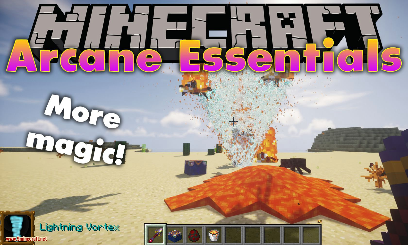 Arcane Essentials mod for minecraft logo