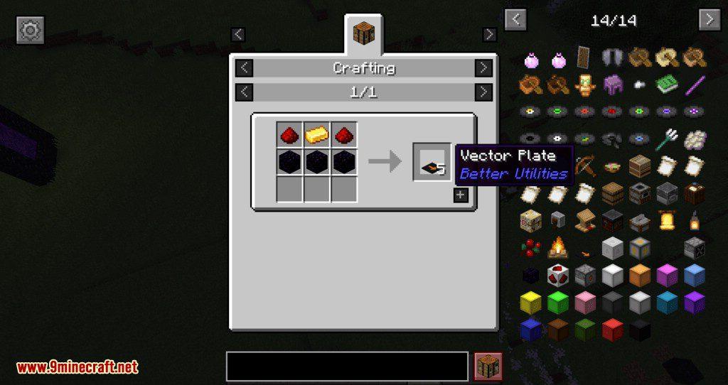 Better Utilities mod for minecraft 23