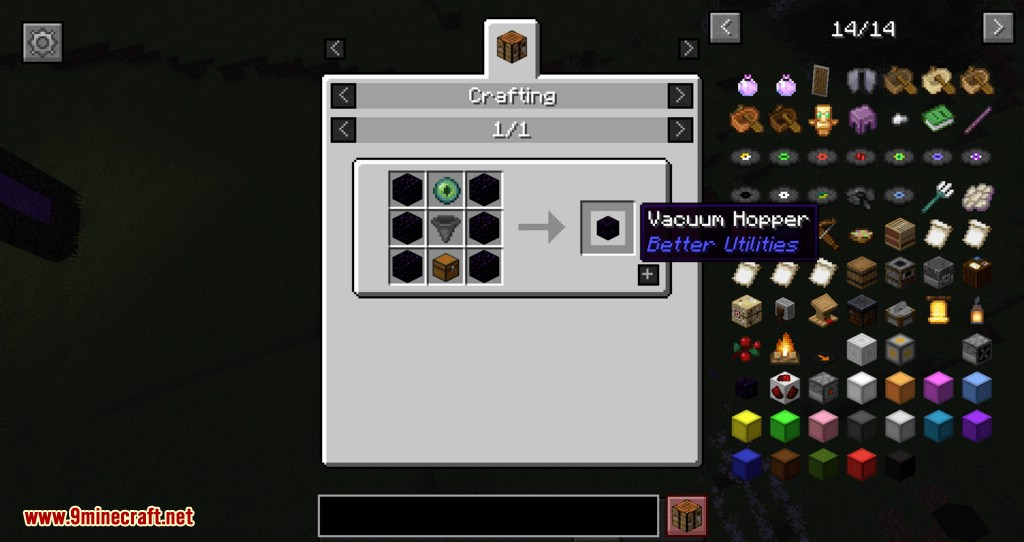 Better Utilities mod for minecraft 25